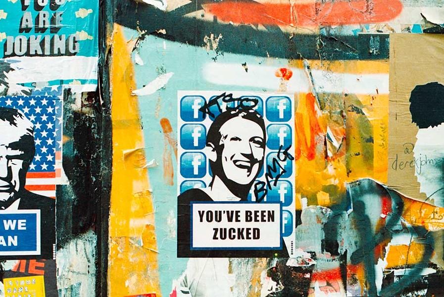 GO ZUCK YOURSELF I'm leaving you, Facebook. - ANNIE SPRATT