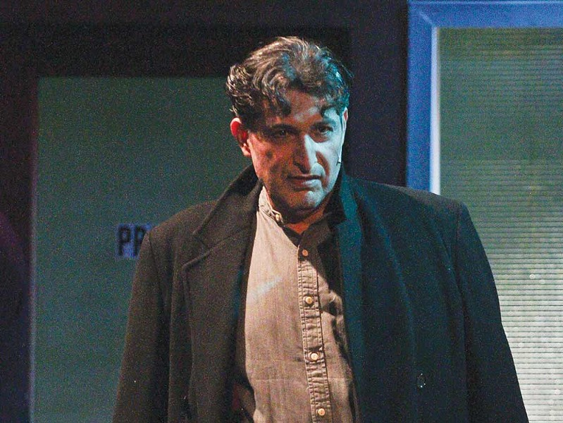 LIGHTS OUT As with most everything else, 6th Street Playhouse has cancelled 'Sweeney Todd,' starring Pedro Rodelas, due to health concerns. - ERIC CHAZANKI