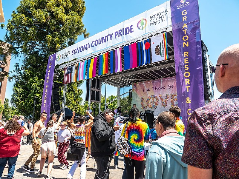Sonoma County Pride 2019 - PHOTO COURTESY SONOMA COUNTY PRIDE FACEBOOK PAGE