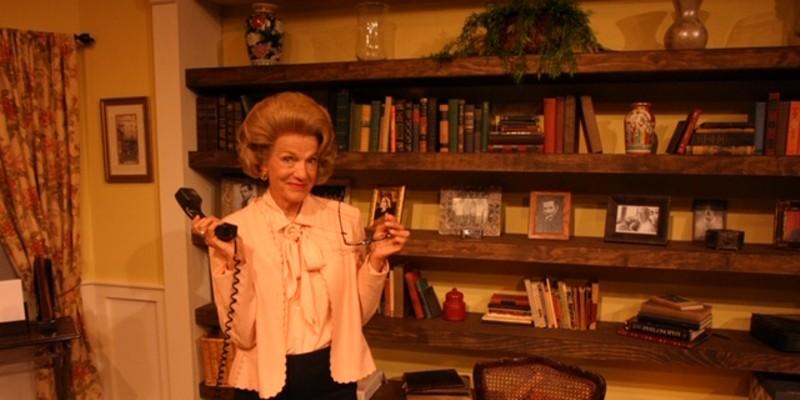Laura Jorgensen is Ann Landers in Cinnabar Theater's latest.