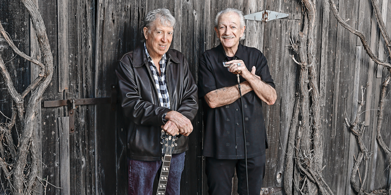 FRIENDS WITH BLUES Elvin Bishop and Charlie Musselwhite make their album debut as a duo after many years of friendship.