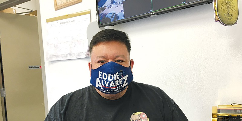 Eddie Alvarez, proprietor of The Hook, is running for Santa Rosa City Council.