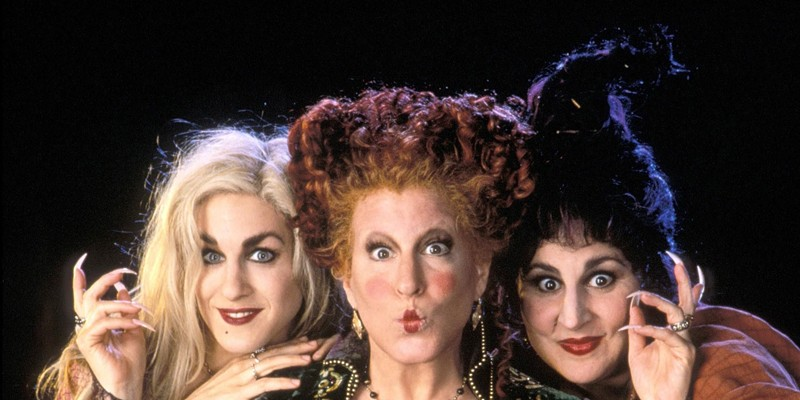 "WITCHY WOMEN The 1993 cult-classic ""Hocus Pocus"" screens outdoors in Cloverdale and indoors in St. Helena this month."