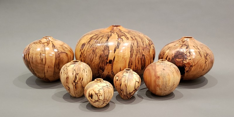 """""""Turned Vessels"""" by John Cobb displays virtually as part of Museum of Sonoma County's """"Artistry in Wood"""" exhibition."""