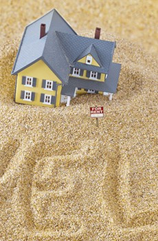 LINE IN THE SAND Housing prices are increasingly out of reach for many North Bay residents.