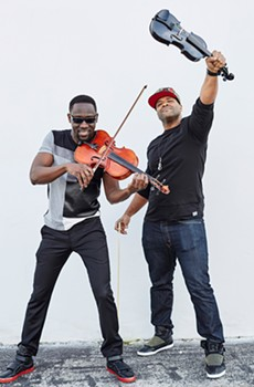 STRING THEORY< Wil B. and Kev Marcus combine classical training with hip-hop influences.