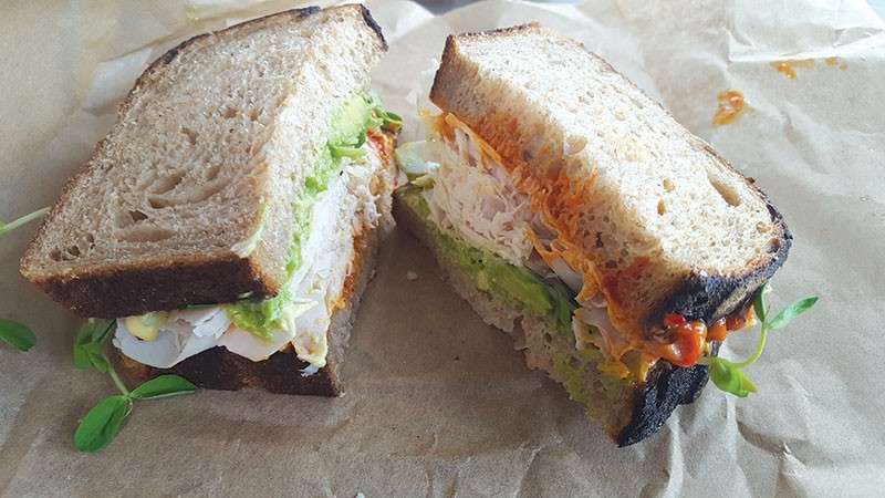 DOCTOR'S ORDERS  Eat the turkey and avocado sandwich. You'll feel better right away.