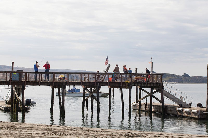 PIER PRESSURE  Lawson's Landing owners to meet with Coastal Commission interim honcho this week. - MICHAEL AMSLER
