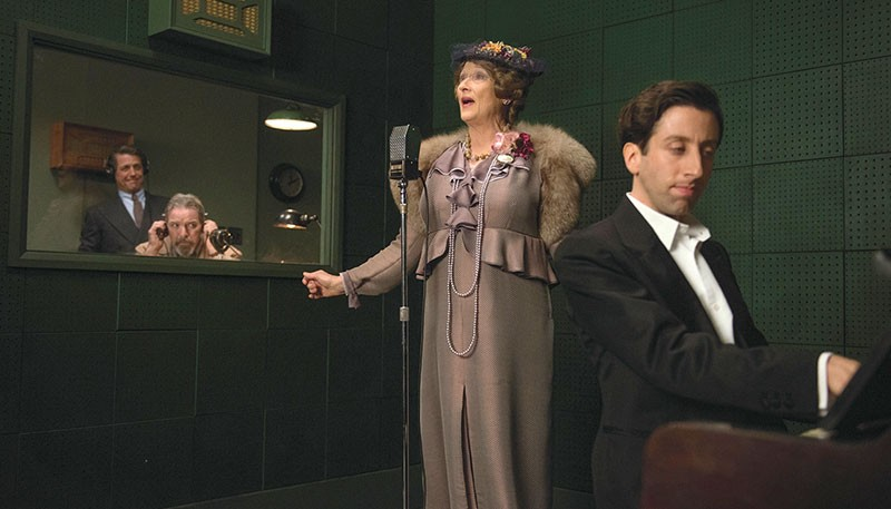 TALENT NO-SHOW  Meryl Streep's Florence Foster Jenkins makes some ears bleed as world-famous worst singer.