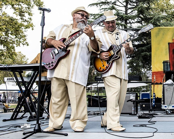 DYNAMIC DUO Twice as Good win the NorBay for Blues/R&B - ROBERT HAKINS