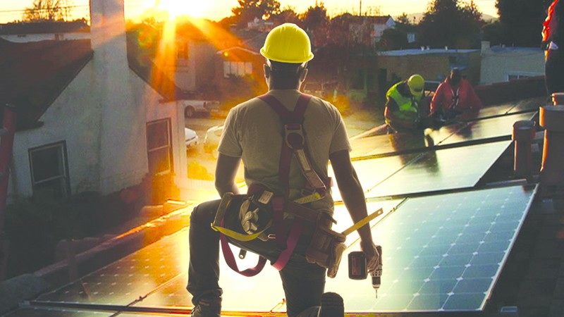 STAR POWER  New doc on energy issues looks to the sun.