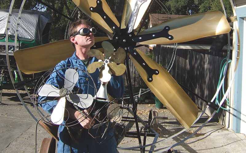 THE MACHINIST  Using tools of his own design, Andy Graham can make as many as 50 instruments a week. - JOSHUA GRAHAM PINAULA