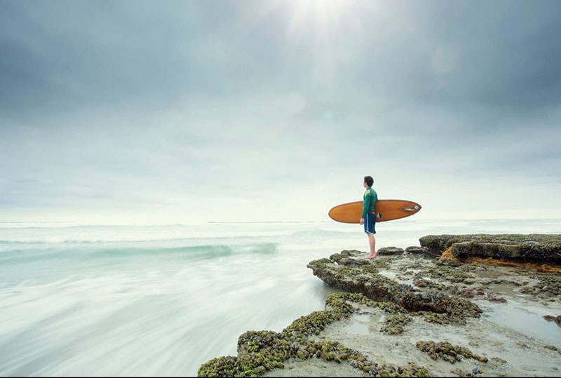 OCEAN IN A DROP  Surfing, like golf 20 years ago, is spawning a whole new genre of spirituality books.