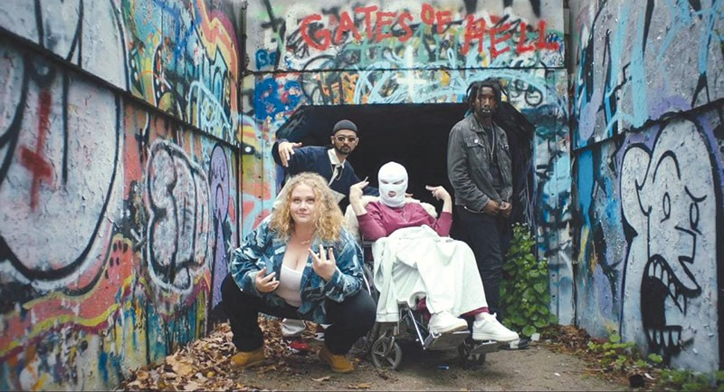 ME AND MY CREW  Danielle Macdonald rises above her hardluck roots in this feelgood movie.