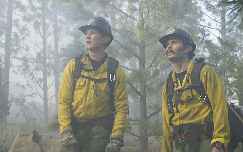 SMOKE JUMPERS  Everyone wants to cheer firefighters—even when - the acting is bad.