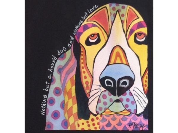 """""""Hound Dog"""" by Phyllis Rap"""