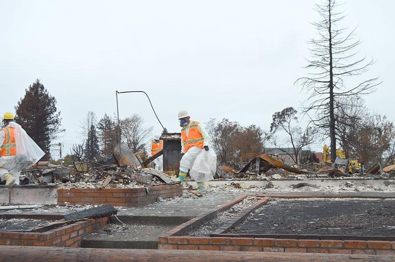 HAZARDOUS DUTY Sonoma County Supervisor James Gore touts a locally sourced cleanup effort. - TOM GOGOLA