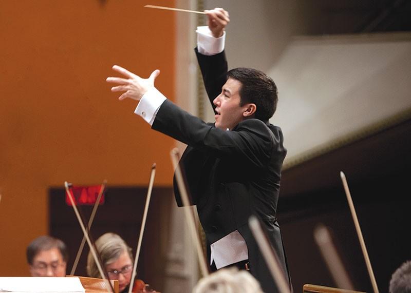 SUPER CONDUCTOR Francesco Lecce-Chong hopes to broaden Santa Rosa's classical audience.