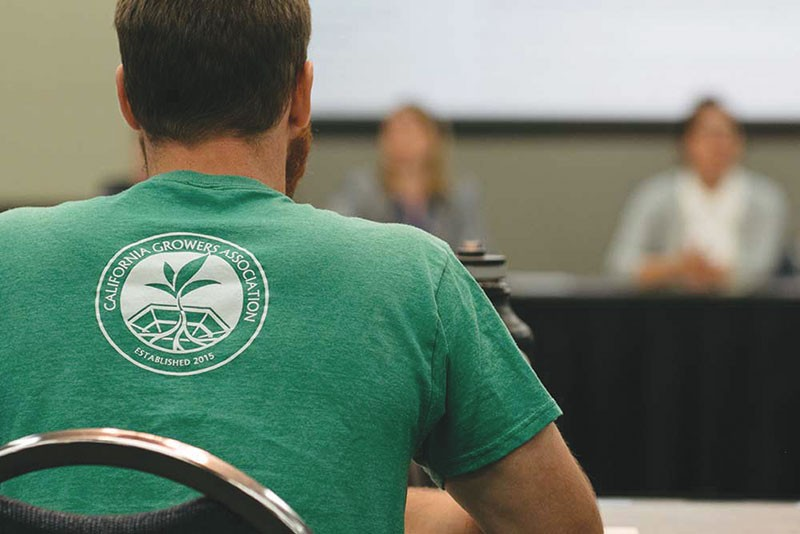THE LITTLE GUYS  The California Growers Association represents mostly small-scale cannabis growers, - farmers who were supposed to be protected by a Proposition 64 acreage cap.
