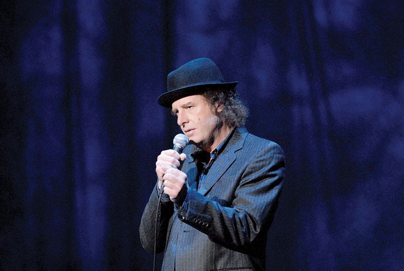 HE HAS A PONY Standup legend Steven Wright continues to craft sublime and subdued humor 30 years into his career. - JORGE RIOS