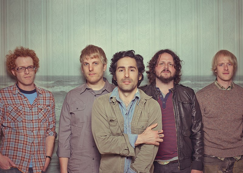 SONGWRITING BLITZ  Eric Earley (center) of Blitzen Trapper was 'consumed - by music' when he wrote celebrated album 'Furr' in 2008. - TYLER KOHLHOFF