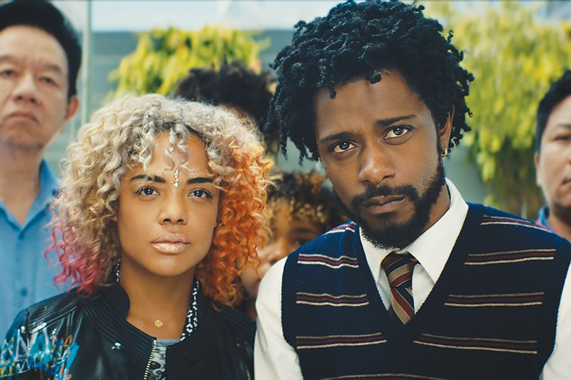 CAN'T LOOK AWAY Tessa Thompson and Lakeith Stanfield captivated audiences in 'Sorry to Bother You,' an outlandish satire on racism.
