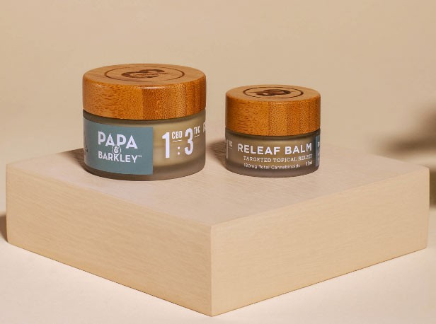 "Take That Papa & Barkley's ""Releaf Balm"" is very effective against pain."