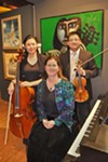 <b>CLASSICAL NYE</b>  Members of the San Francisco Symphony  perform at the Petaluma Museum.