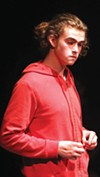 <b>A BOY AND A DOG</b> Elijah Pinkham inhabits his role in 'Curious Incident.'