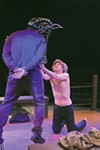 <b>HIGH HORSE</b> Martin Gilbertson and Ryan Severt stunned audiences in 
