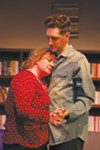 <b>SLOW DANCE</b> Sandra Ish and Dean Linnard get close in 'Sex with Strangers.'