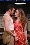 <b>MISS ME</b> Sam Coughlin (left) and Ilana Niernberger get tangled in 