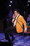 <b>HUNKA HUNKA</b> Daniel Durston shakes, rattles and rolls as part of 
