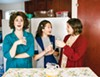 <p><b>Family Ties</b> Chandler Parrott-Thomas, left, Margaret Grace Hee, center, and Jensen Power share a sisterly bond in 'Crimes of the Heart.'</p>