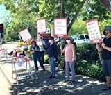 UPDATED: Memorial Hospital Workers Protest Proposed Contract