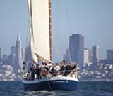 Après Thanksgiving Lunch Sail on San Francisco Bay