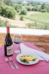 Mother's Day Brunch with a View at Fog Crest Vineyard - Uploaded by KazzitInc