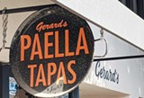 PANNED OUT Gerard's Paella Y Tapas ends its daily restaurant service.