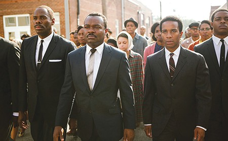UNSTOPPABLE David Oyelowo (center) plays MLK with understated dignity.