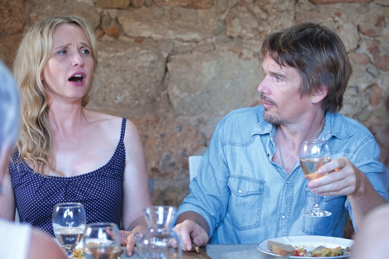 VACATION? Julie Delpy and Ethan Hawke bicker through burdensome times.