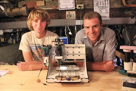 WE BE 3-D Bar Smith and Thomas Beckett's Kickstarter goal for their router was $10,000; they received $80,000.