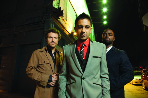 WE THREE Though complex, the music of Vijay Iyer's trio has found acceptance across many different communities. - JIMMY KATZ
