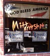 <B>WELL, THAT SAYS IT</b> The Republican headquarters in Santa Rosa: not a very popular place.
