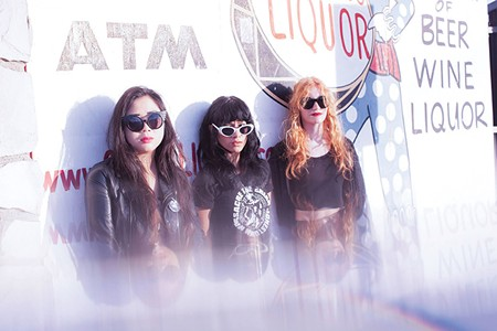 WITCHY WOMEN L.A. Witch blend '70s proto punk and '80s garage rock.