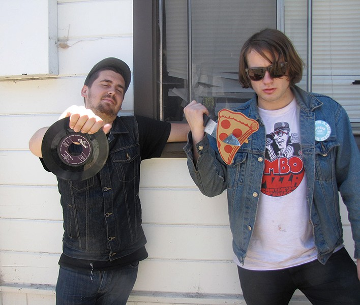 YEASTIE BOYZ The Pizza Punx have their own initiation ceremony.