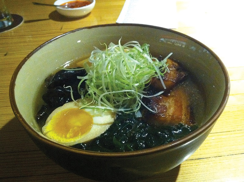 YES SOUP FOR YOU! Ramen Gaijin aims to create an 'authentically Sonoma County' bowl of ramen. - STETT HOLBROOK