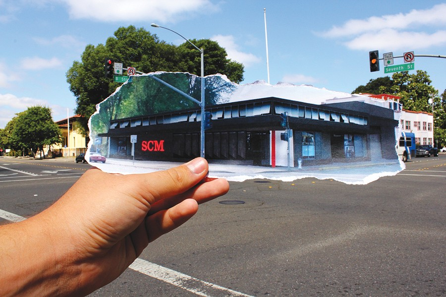 YOOOU CAN COUNT ON US The old Conklin Bros. building will house the Sonoma County Museum's new exhibition space. - NADAV SOROKER