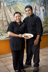 YUCATAN PRIDE Genny and Antonio Barrios of Rancho Viejo Restaurant. - MICHAEL AMSLER
