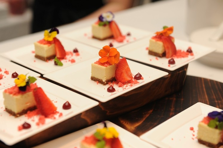 Dishes at Best of the Best. - PHOTO COURTESY OF SOUTH BEACH WINE & FOOD FESTIVAL