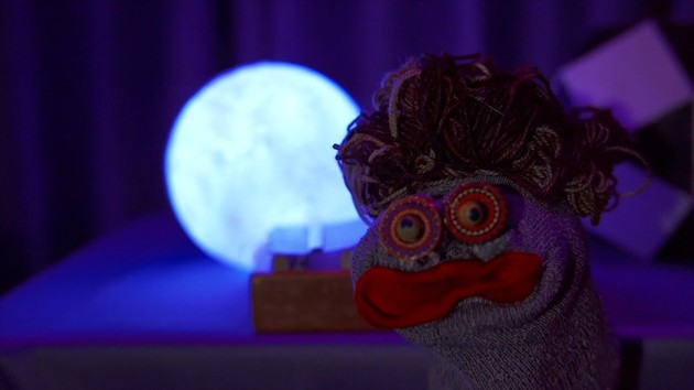 Sock puppets get screen time during The Matthew Dear Show. - PHOTO COURTESY OF DREAM ACCESS TV